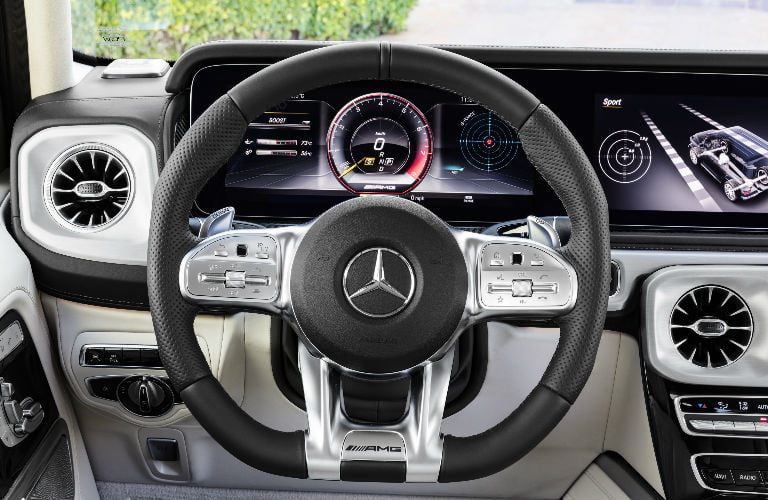 AMG Steering Wheel G Class o at omgloh.com
