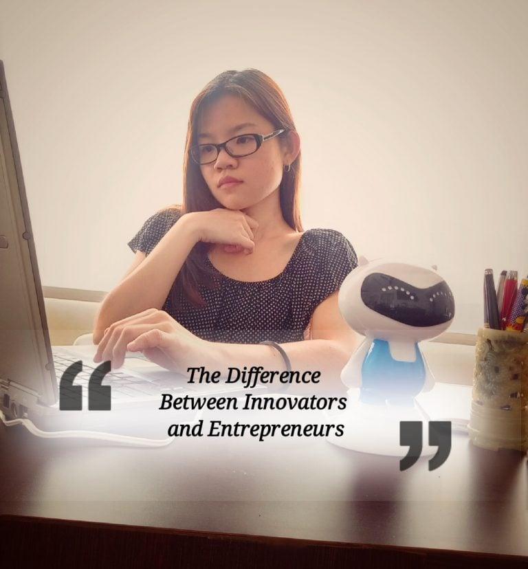 """""""创新者""""和""""企业家""""有什么不同?"""