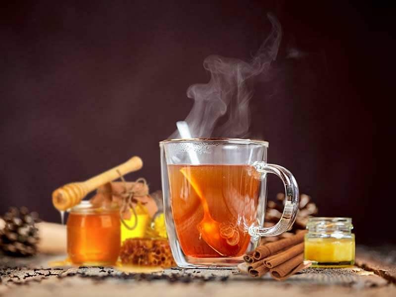 Honey and cinnamon tea at omgloh.com