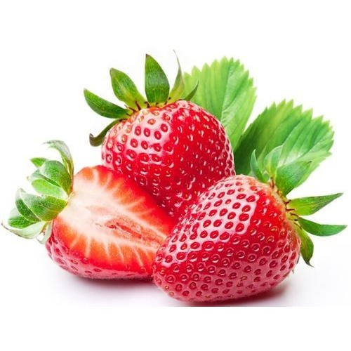 fresh red strawberry at omgloh.com