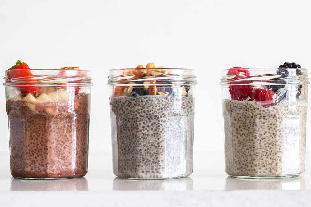 Chia Seed Pudding 3 Ways at omgloh.com