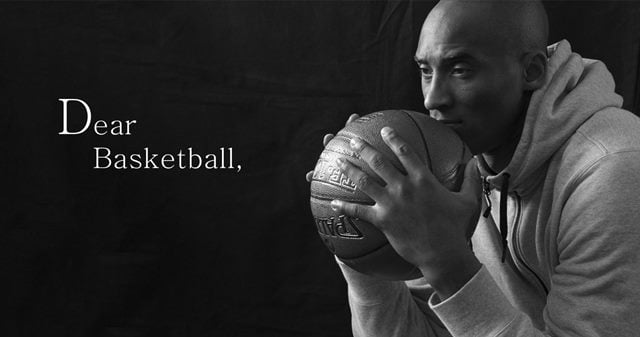 dear basketball kobe bryant at omgloh.com