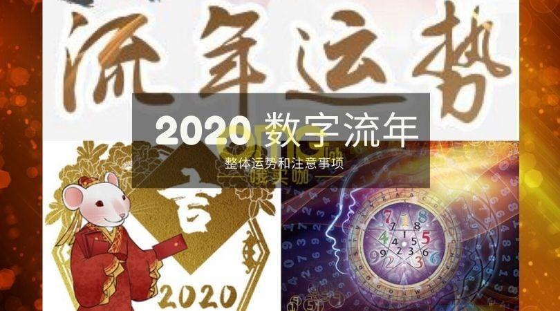 2020 数字流年 at omgloh.com