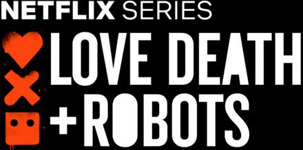 Love Death  Robots logo at omgloh.com