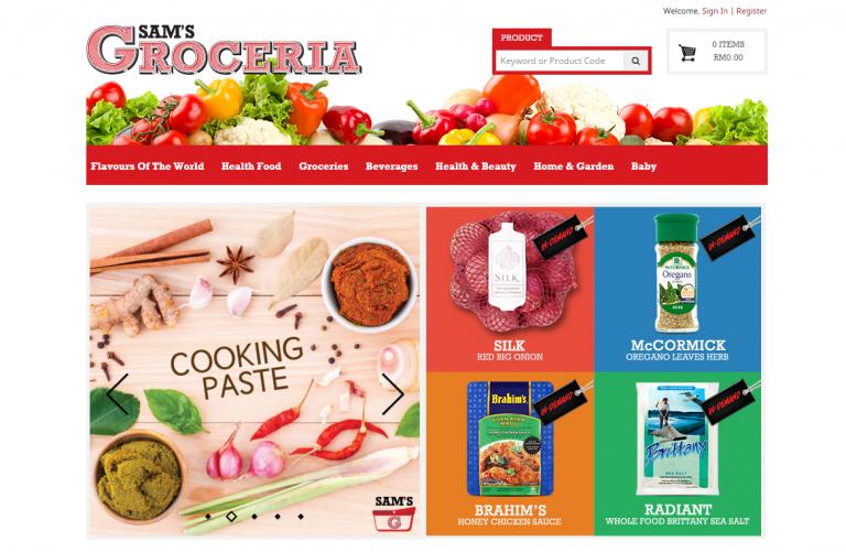 sams groceria at omgloh.com