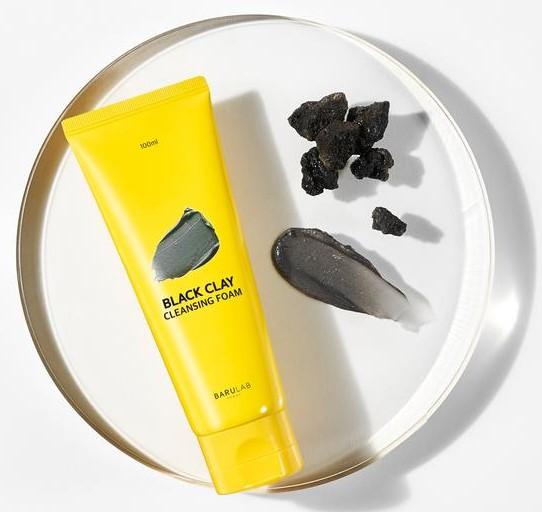 BARULAB Black Clay Cleansing Foam 1 at omgloh.com