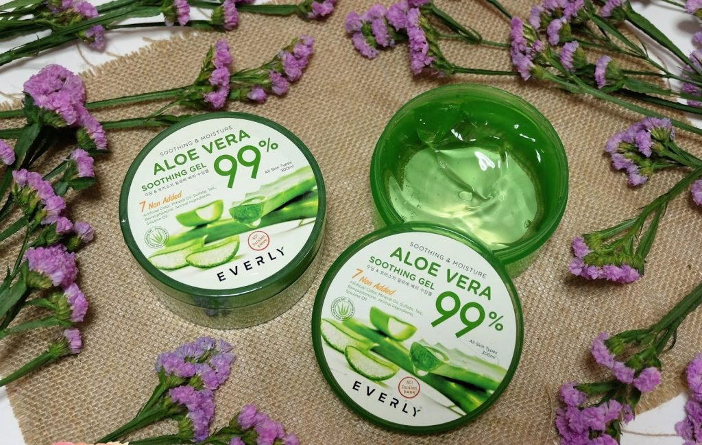 EVERLY Soothing Moisture Aloe Vera Soothing Gel 1 at omgloh.com