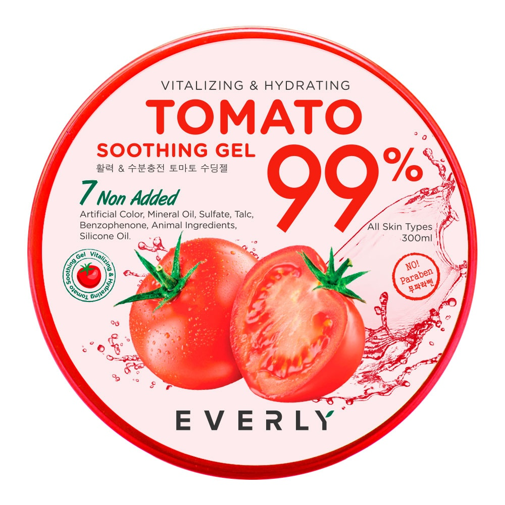 EVERLY Vitalize Hydrate Tomato Soothing Gel at omgloh.com